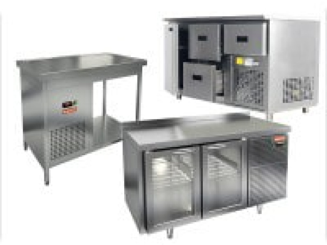 Ремонт холодильных столов